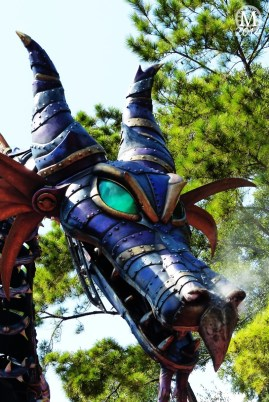 Maleficent Dragon - Festival of Fantasy Parade - Magic Kingdom