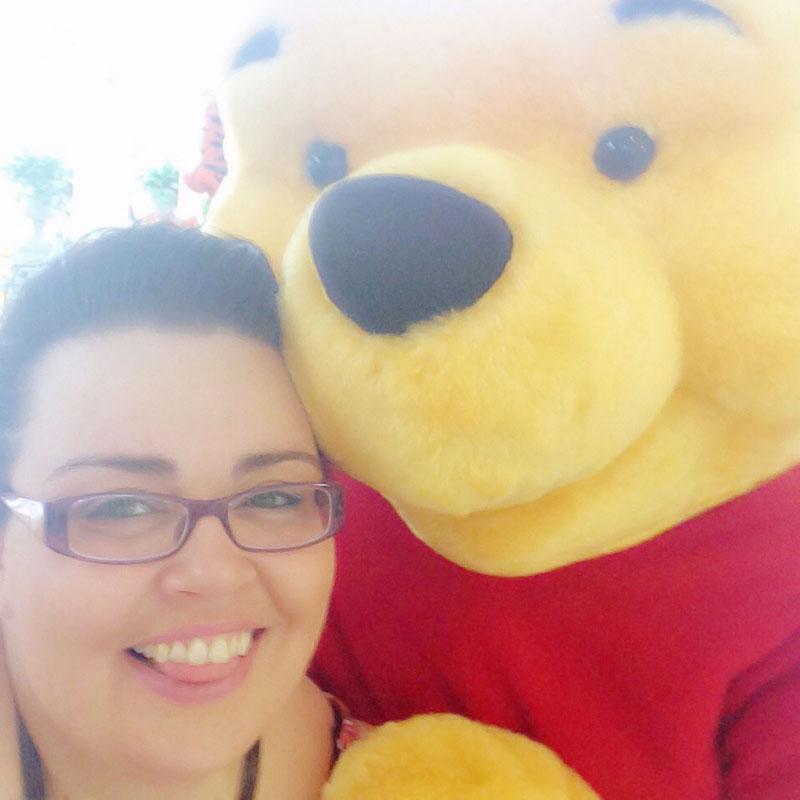 Me with Winnie the Pooh