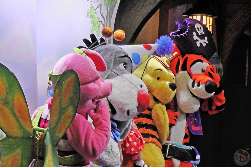Character Meet & Greets at Mickey's Not-So-Scary Halloween Party