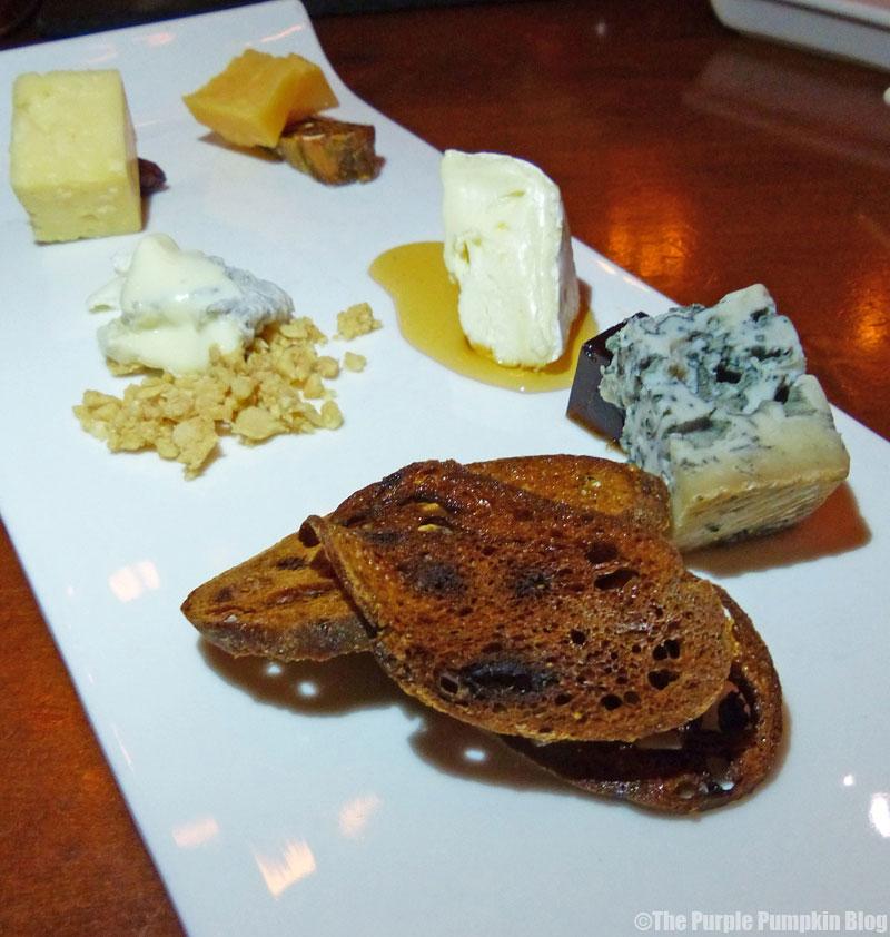 Le Cellier - Canada Pavilion - Epcot World Showcase - Assortment of Artisanal Cheese