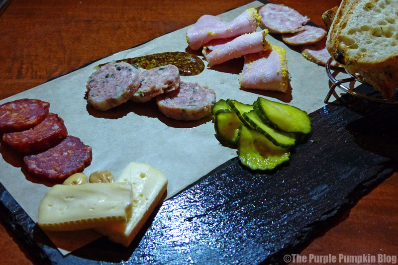 Le Cellier - Canada Pavilion - Epcot World Showcase - Charcuterie