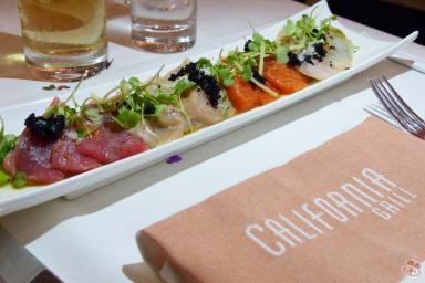 Yuzu-Marinated Sashimi - California Grill
