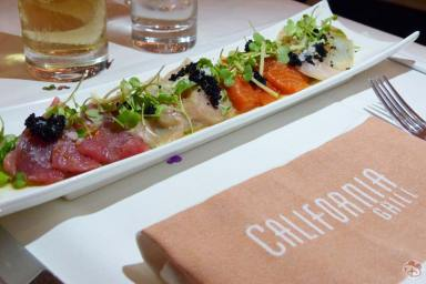Yuzu-Marinated Sashimi - California Grill