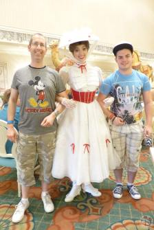 Meeting Mary Poppins at 1900s Park Fare at Grand Floridian (11)