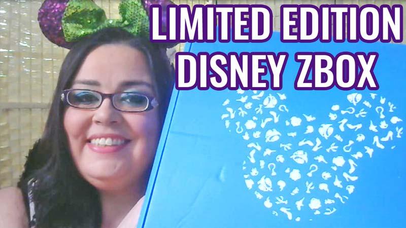 Limited Edition Disney ZBox