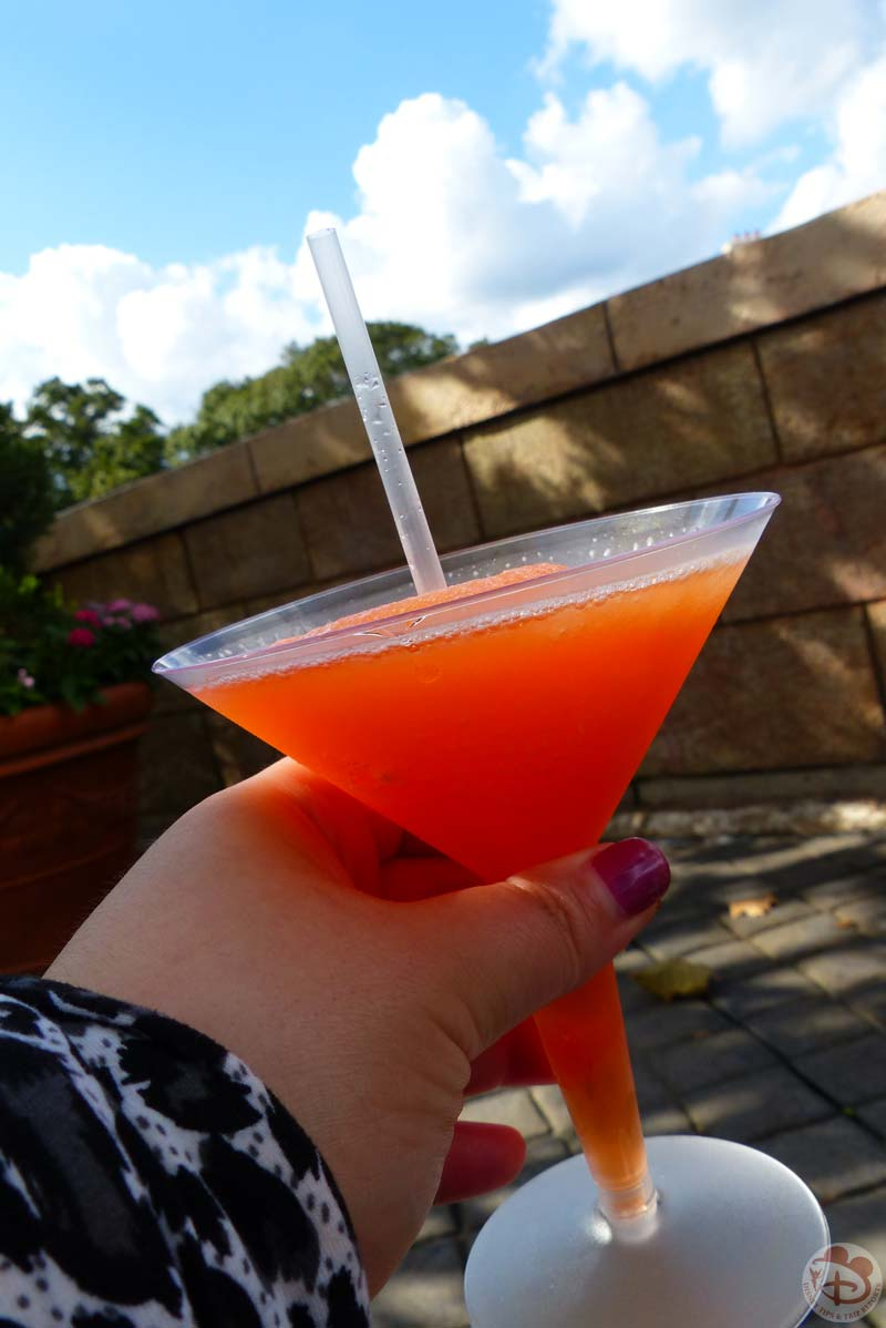 La Passion Martini Slush - Epcot Food & Wine Festival