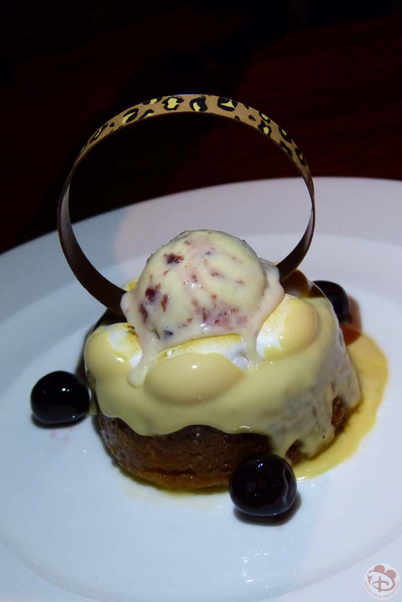 Malva Pudding - Jiko - The Cooking Place - Animal Kingdom Lodge