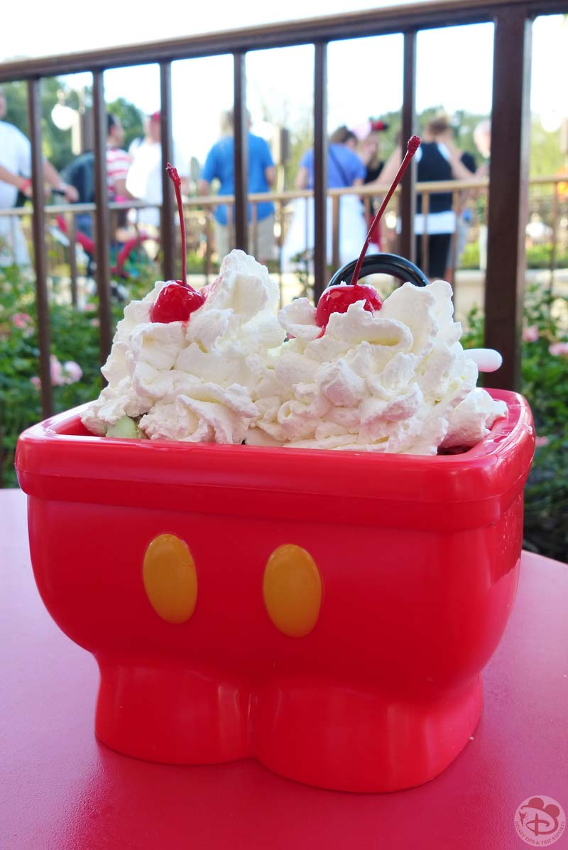 Mickey's Kitchen Sink Sundae