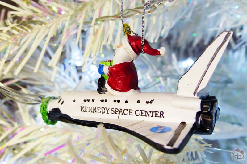 Kennedy Space Center Christmas Ornament