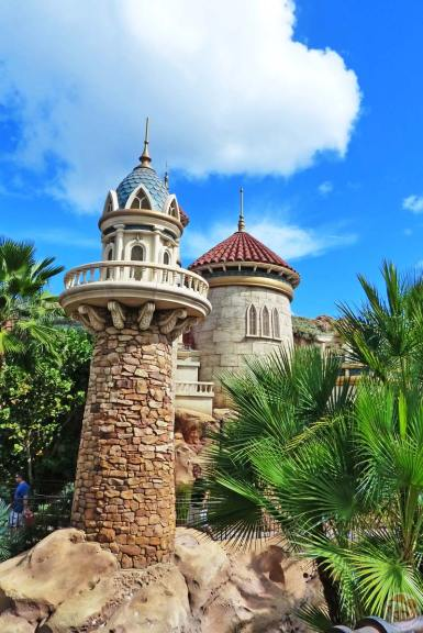 Ariel's Grotto - Magic Kingdom