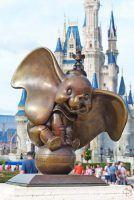 Dumbo Statue - Magic Kingdom