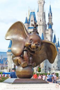 Dumbo Statue - Magic Kingdom