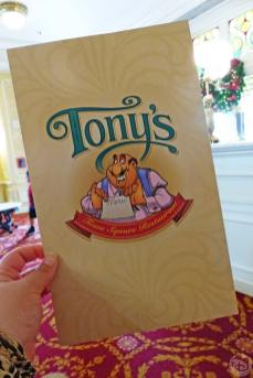 Tony's Town Square Restaurant - Magic Kingdom
