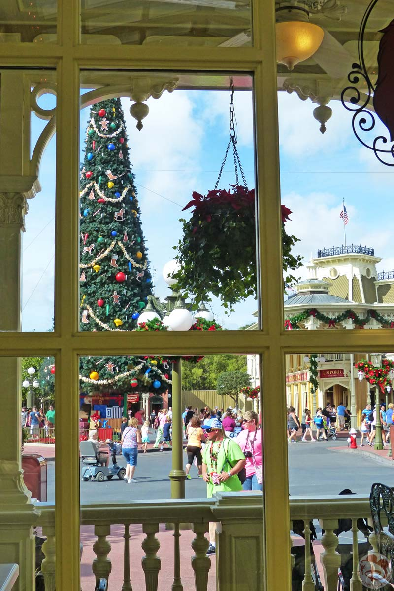 Christmas Decorations at Magic Kingdom