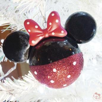 Minnie Mouse Disney Christmas Ornament