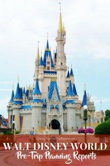 Walt Disney World Pre-Trip Planning Reports