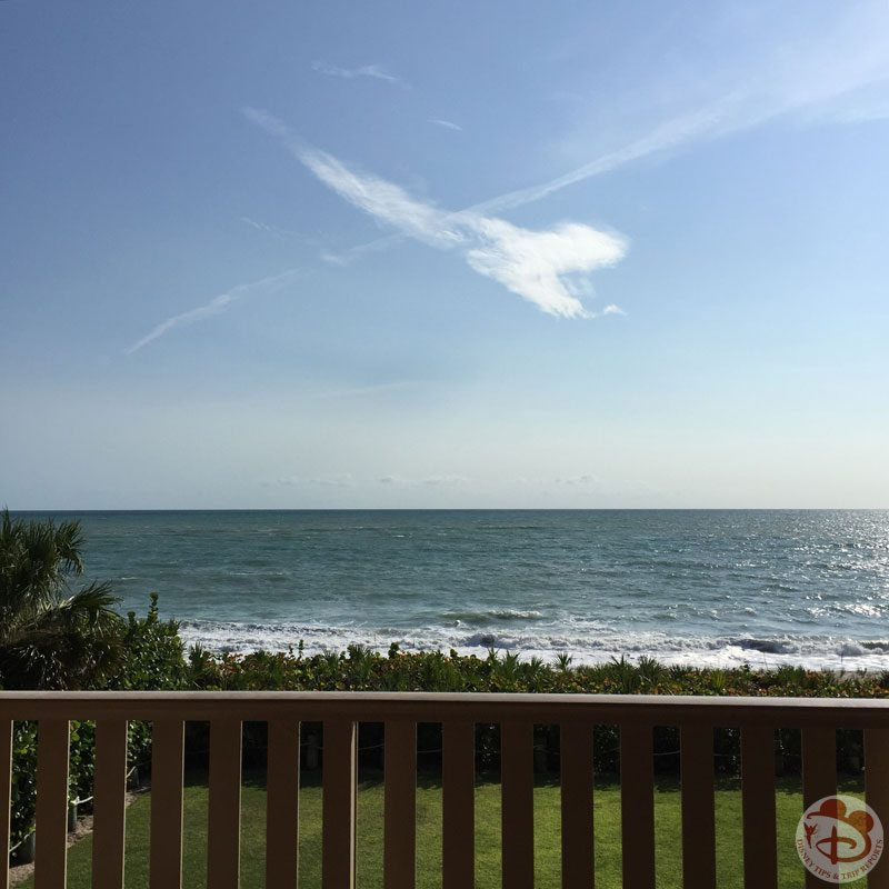 Atlantic Ocean View from Disney's Vero Beach Resort Room