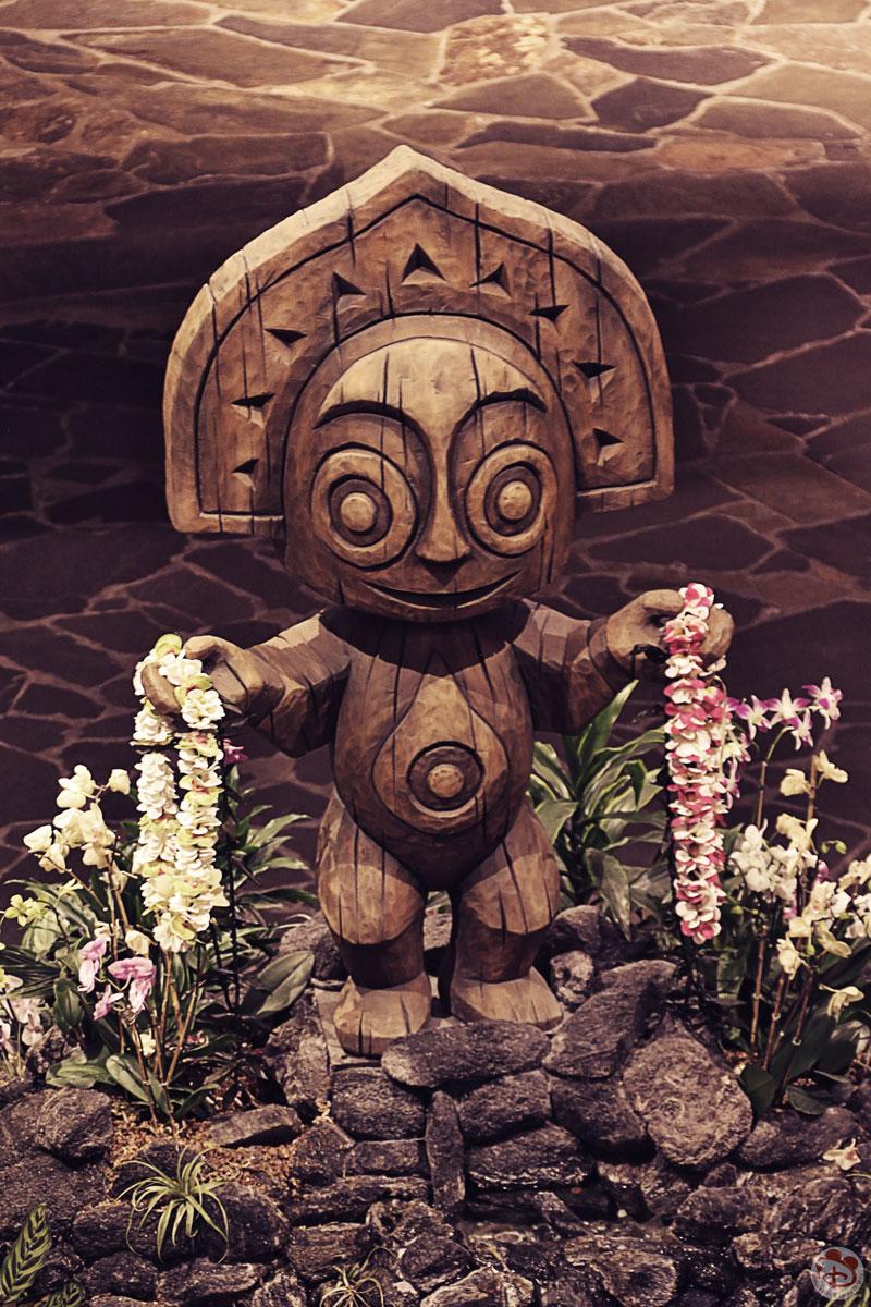 Maui TikiGod Statue - The Great Ceremonial House - Disney's Polynesian Village Resort