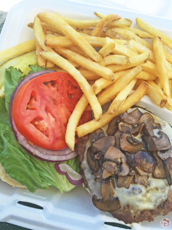 1/3lb Angus Mushroom Provolone Burger