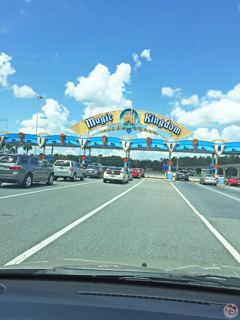 Welcome to Magic Kingdom Sign