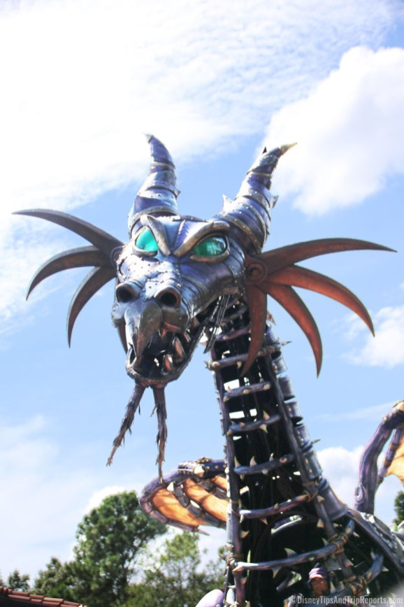Festival of Fantasy Parade - Magic Kingdom - Maleficent Dragon