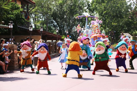 The Seven Dwarfs - Happy - Festival of Fantasy Parade - Magic Kingdom