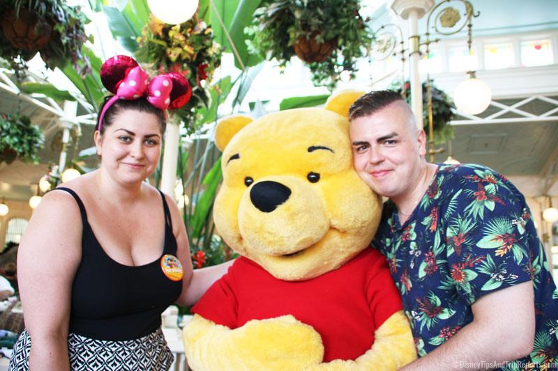 Meeting Pooh at Crystal Palace