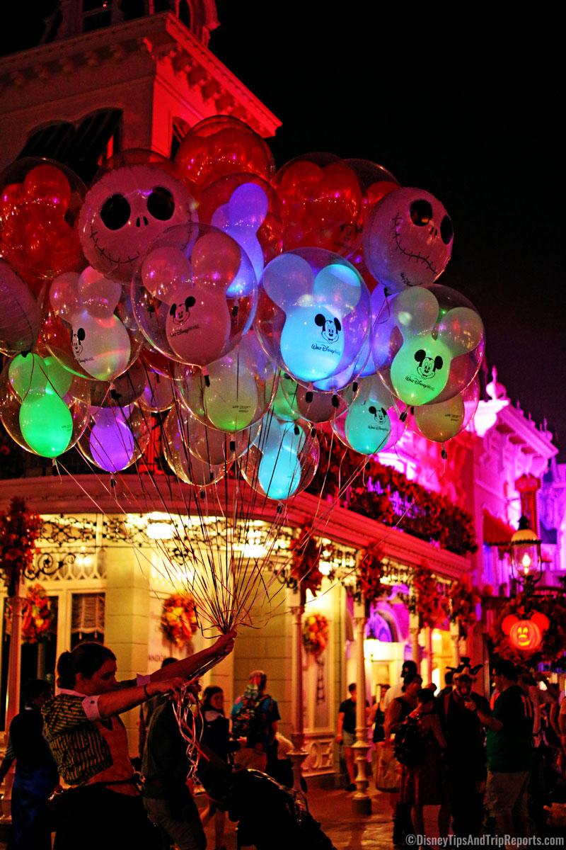 Balloons - Mickey's Not So Scary Halloween Party 2016