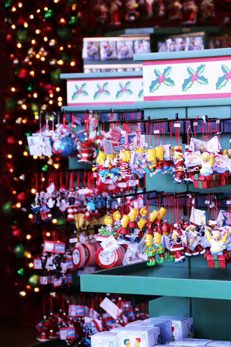 Christmas Ornaments - Universal Studios, Orlando