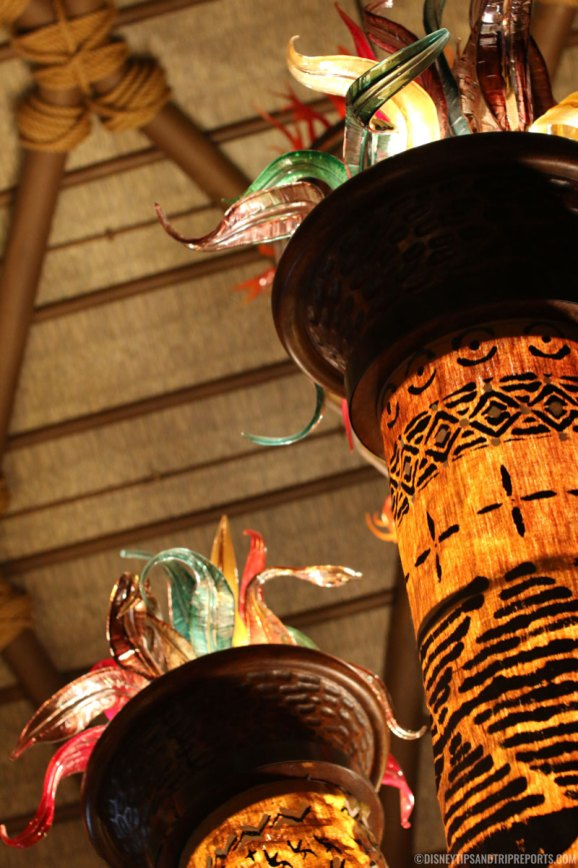 African Art at Animal Kingdom Lodge Kidani Village