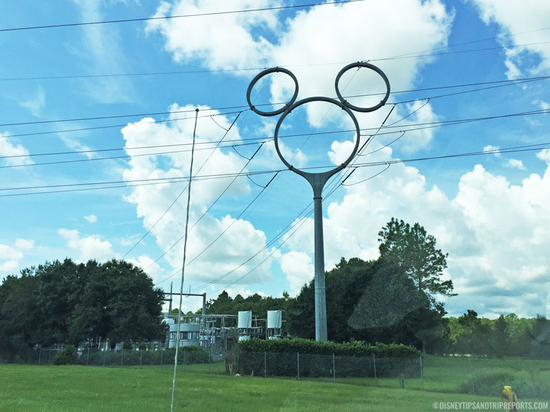 Mickey Mouse Pylon