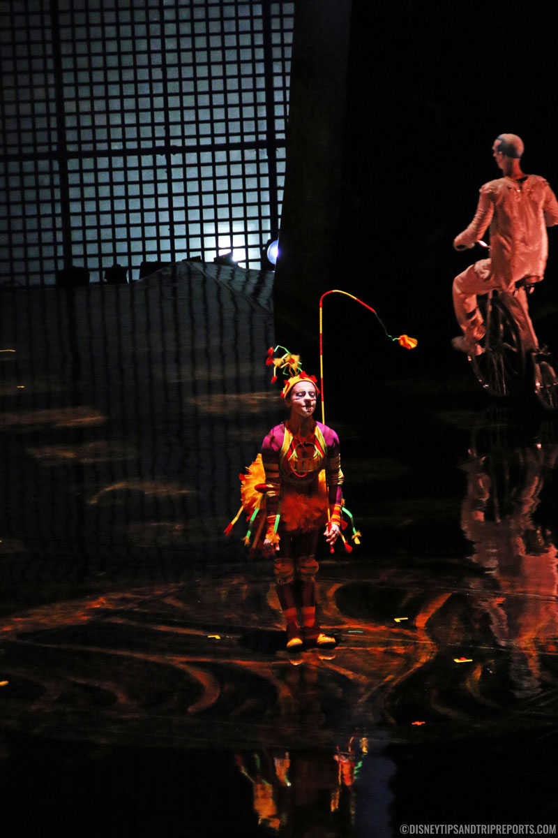 The Green Bird - Cirque Du Soleil - La Nouba