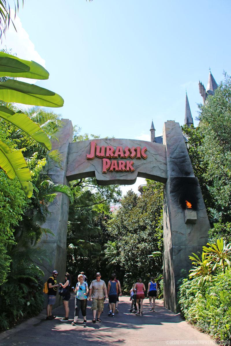 Islands of Adventure - Jurassic Park