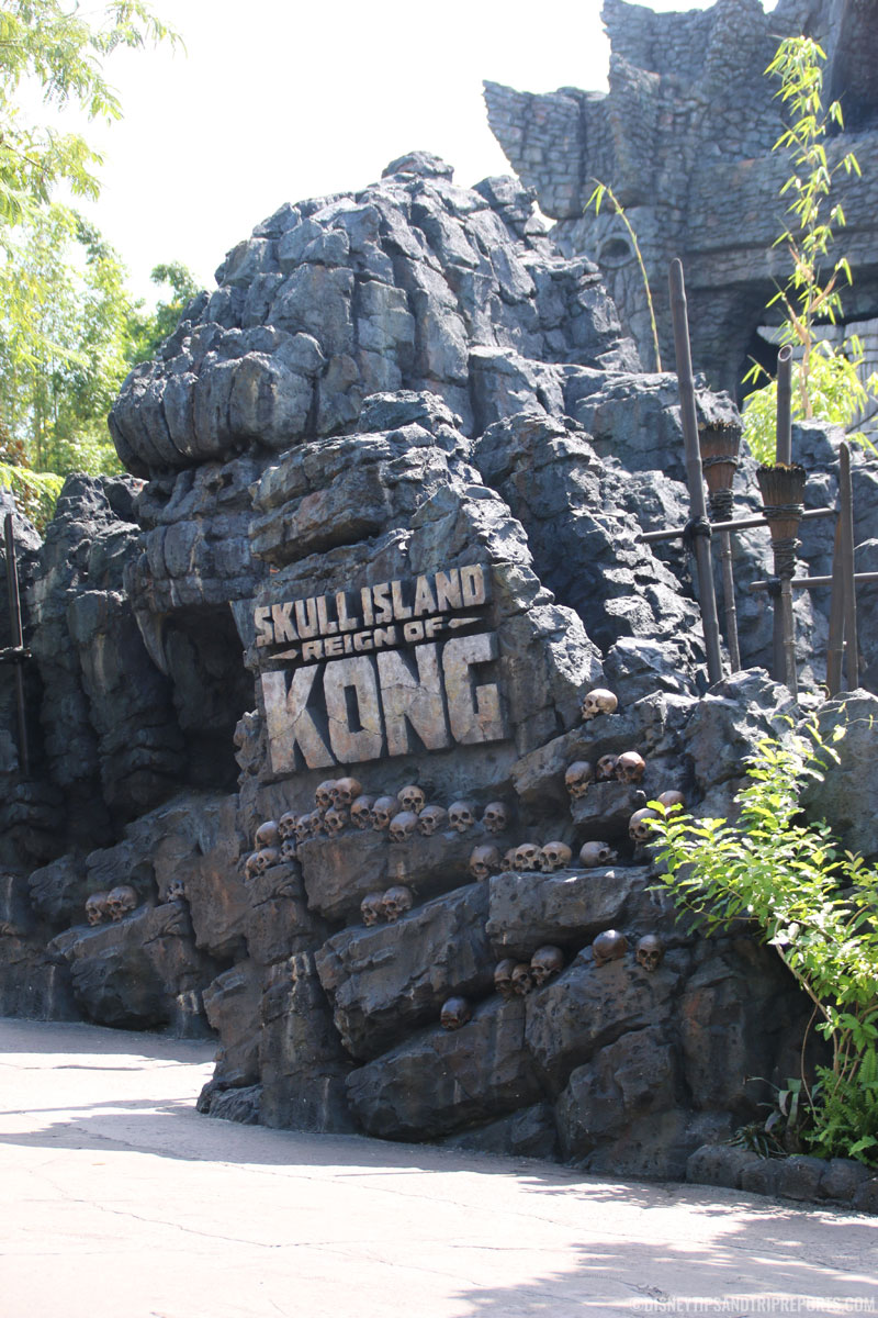 Islands of Adventure - Skull Island Reign of Kong