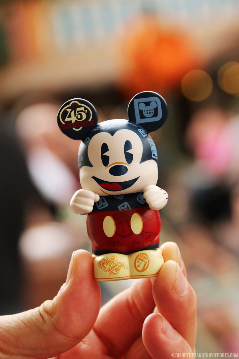 Walt Disney World 45th Anniversary Vinylmation Mickey Mouse Figure