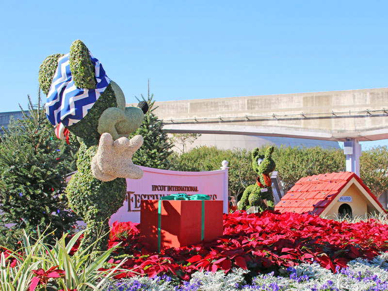 Epcot Epcot Christmas Topiaries