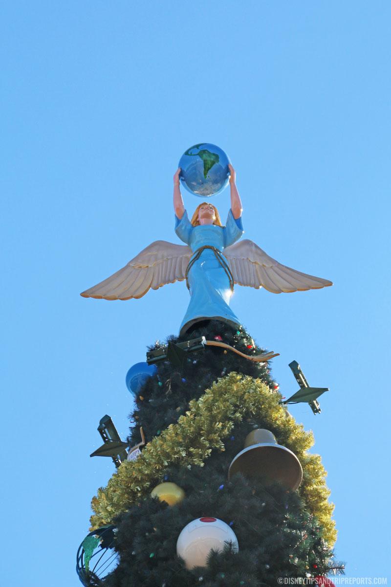 Epcot Christmas Tree Angel