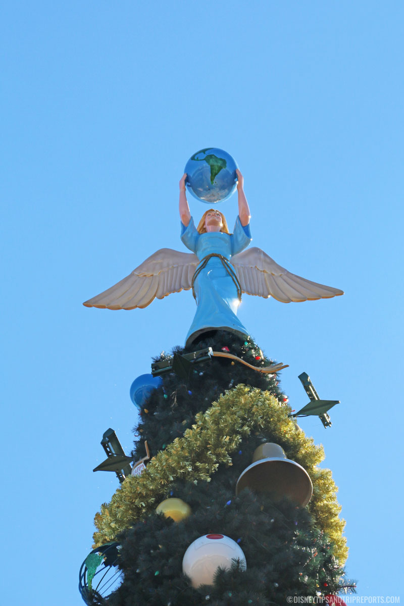 Epcot Christmas Tree Angel