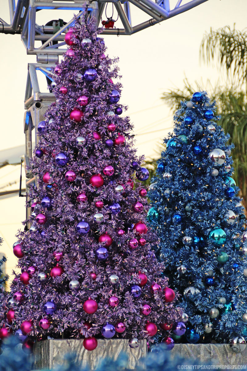 Epcot Christmas Trees