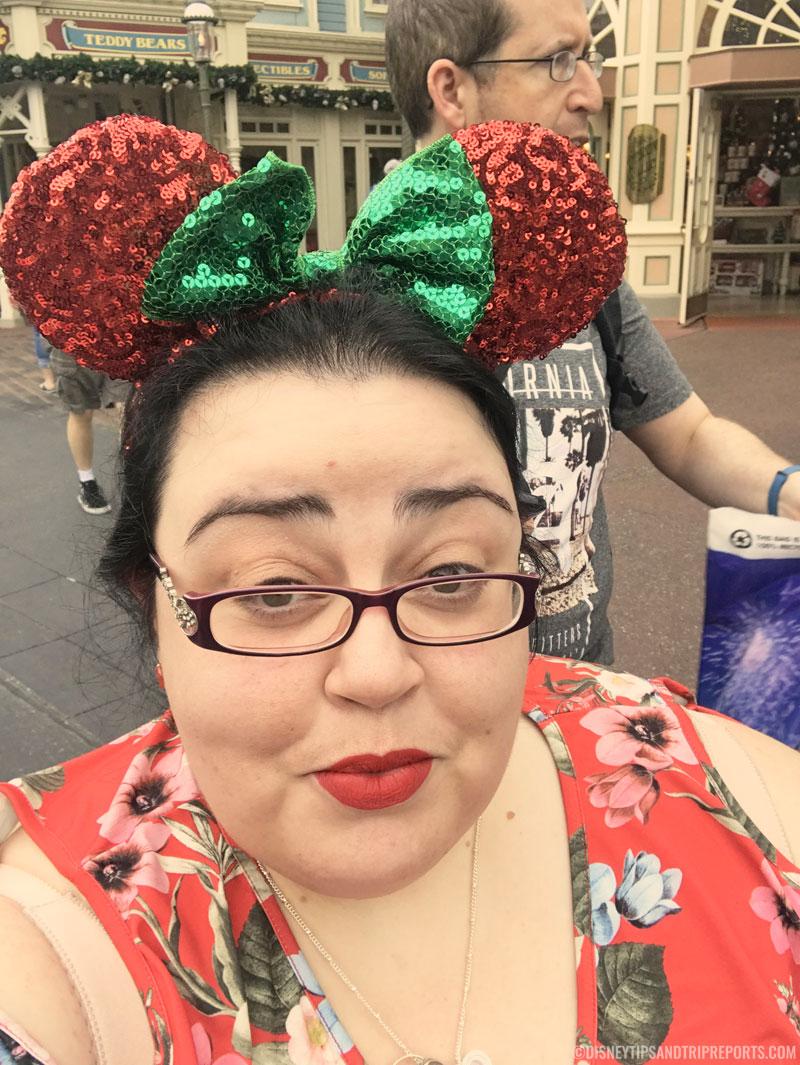Me at Magic Kingdom