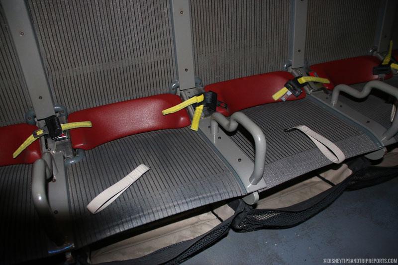 Ride Seats - Soarin' - Epcot
