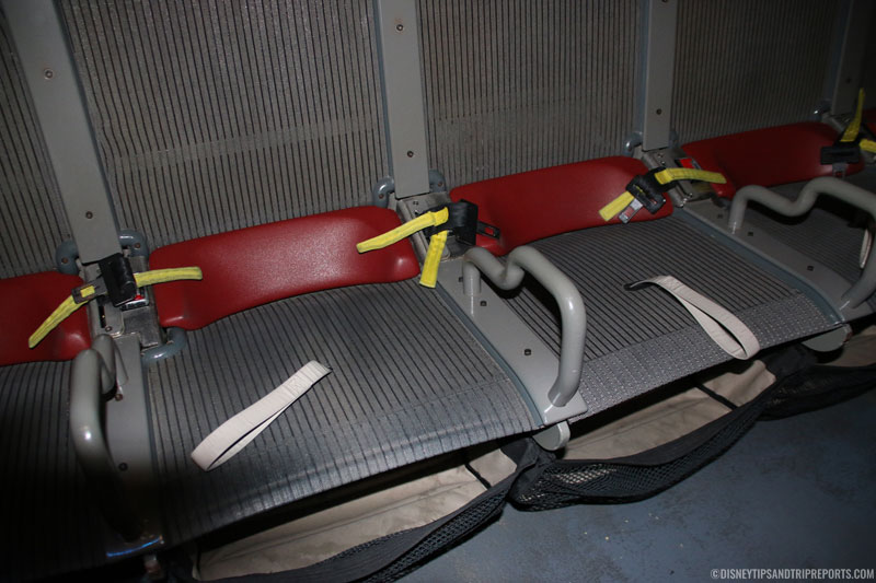 Ride Seats - Soarin' - Epcot