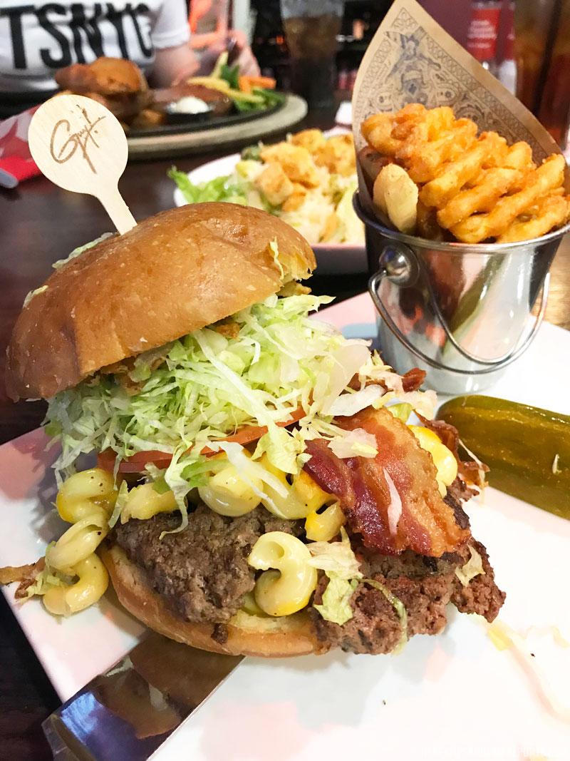 Bacon Mac-N-Cheese - Planet Hollywood Disney Springs