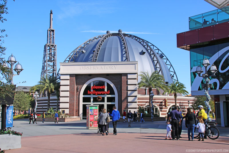 Disney Springs - Planet Hollywood