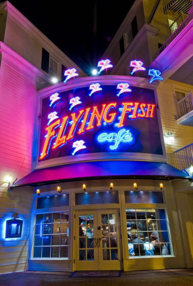 Disney 39 s boardwalk inn review disney tourist blog for Flying fish cafe disney