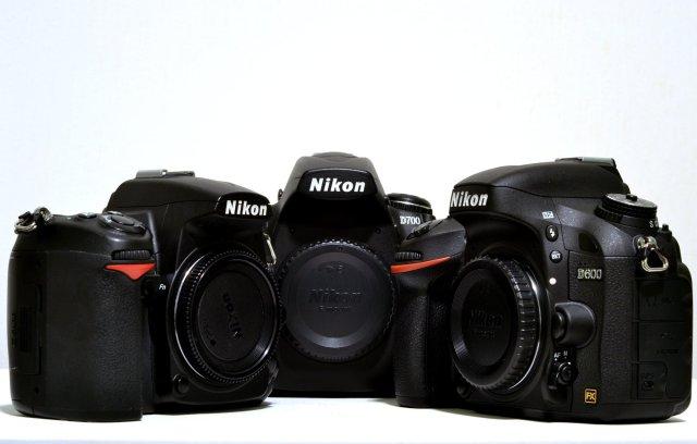 Nikon D600, D700, D7000
