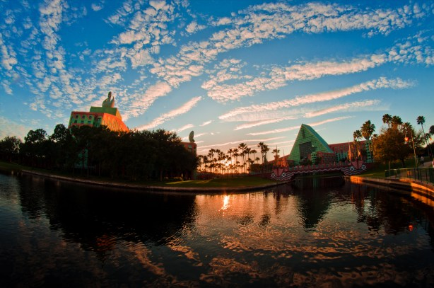 Walt Disney World Swan & Dolphin Sunset