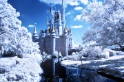 Cinderella Castle Infrared - Walt Disney World
