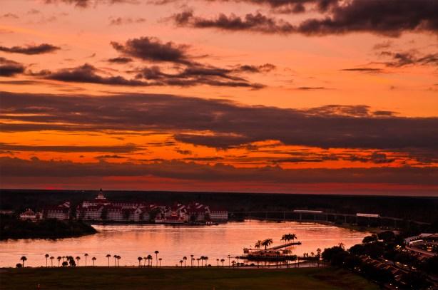 Grand Floridian Resort Walt Disney World Sunset