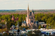 Cinderella Castle From Air - Walt Disney World Photo